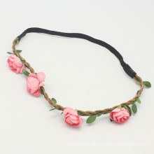 Crown Festival Part Wedding Floral Flower Hair Band (HEAD-280)