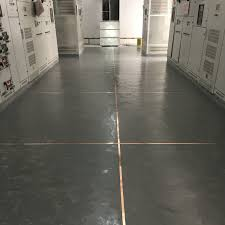 Dark Grey Epoxy Finish Antistatic Material