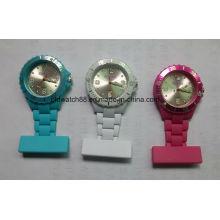 Relógio de enfermeira de plástico de quartzo analógico com preço barato