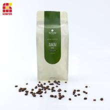 Bolsa de café de 250 g con fondo de caja