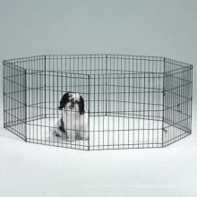 Открытый Безопасности Металлическая Собака Работает Забор