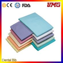 FDA Approved Colorful Dental Bib, Disposable Dental Bib