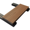 plancher en bois creux Wpc Decking pour l'industrie