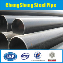 schedule 80 steel tube/ sch80 black steel pipe ASTM a106b