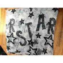 Star Style Polyester Garn Infinity Schal