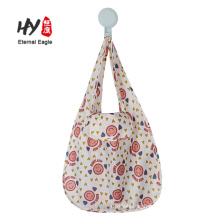 Custom reusable folding supermarket grocery bag waterproof