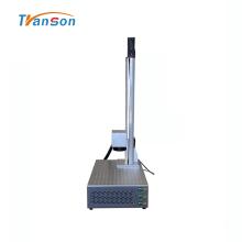 Mini marqueur laser à fibre 50W avec Z électrique