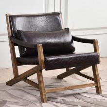 Silla de madera maciza de muebles de madera estilo nórdico