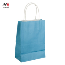 China supply cheap kraft paper shopping tote handle bag
