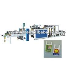 Canales de doble alta velocidad del corte del calor línea de productos plasticos máquina para fabricar bolsas de espuma de polietileno