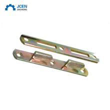 Custom stamping  l shape bracket with zinc plated