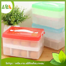 Double-layer Egg Plastic Container Box