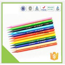 Crayon de plomb de couleur sans bois soluble dans l'eau avec de haute qualité