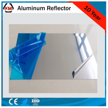 mirror laminate sheet for lighting reflectors