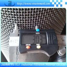 Malha de arame quadrada da abertura de 0.6mm-40mm