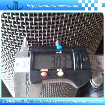 0.6mm-40mm Aperture-Quadrat-Maschendraht