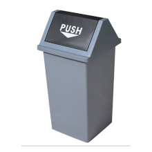 35 Liter Plastic Outdoor Push Dust Bin (YW0031)