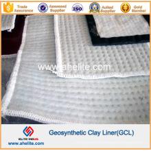 Bentonite membrane imperméable géosynthétique Clay Liner Gcl