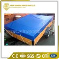 Dust Resistant Wind Protection Polyester Tarp Trailer Cover