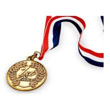 Новая медаль с медалью «Сувенир 3D» с лентой