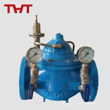 Soupape de pression de pression d'eau en fonte ductile hydraulique