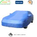 UV protegido 100% poliéster tafetá carro capa tecido com impermeável