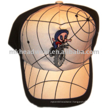 Kids baseball cap hat with embroidery