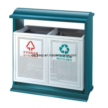 Открытый Сортные мусорная корзина металла (DL101)