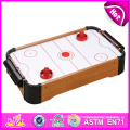 2014 New Wooden Air Hockey Table, Latest Air Hockey Table for Home, Indoor Wooden Air Hockey Table Toy Factory W11A028