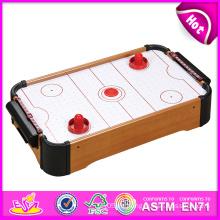 2014 neue hölzerne Luft-Hockey-Tabelle, späteste Luft-Hockey-Tabelle für Haus, Innenholz-Luft-Hockey-Tabellen-Spielzeug-Fabrik W11A028