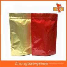 Más reciente metalizado stand up bolsa con grado alimenticio para el embalaje