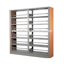 Schulbibliothek verwenden 6 Schichten Buch Display Metall Bücherregal