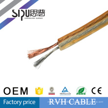 SIPU CCA + TCCA haut de gamme RVH extérieure faible bruit haut-parleur transparent câble meilleur prix plat haut-parleur cordon