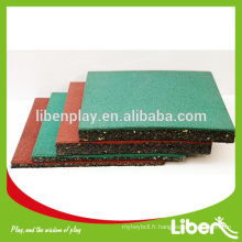 Revêtement de sol de basket-ball en caoutchouc bon marché pour le terrain de basket-ball extérieur LE.DD.001