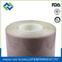 Tissu en fibre de verre enduit de PTFE rouge nouveaux produits