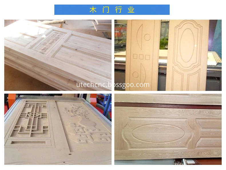 cnc router wood door making machine