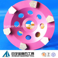 Speical Segment Grinding Cup Wheel for Concrete Surface