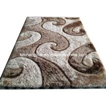 Высокое качество полиэстера Современные мохнатые ковры с 3D эффектами