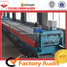 Lantai Tinggi Mesin Roll Forming Deck, Decking Panel Roll Forming Machine
