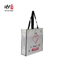 CMYK printing 120g pp woven bag