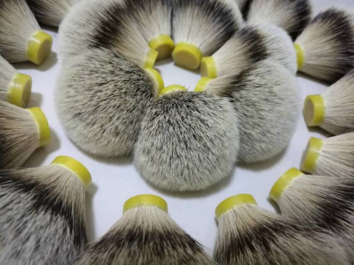 shaving brush knot