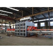 Tablero de partículas con base de madera de Laminación Hot Press Line