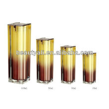 50ml 100ml botella airless acrílico cosmético