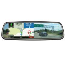 5 pulgadas GPS / DVR / Avin / Bluetooth Espejo retrovisor electrónico multifunción