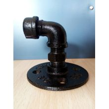 Cast iron black elbow MF plumbing fitting