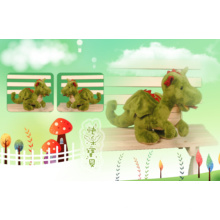 Симпатичная плюшевая игрушка динозавр