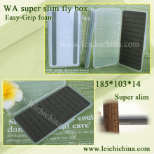 Super slim easy-grip foam fly box