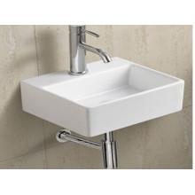Bassin de salle de bains en céramique suspendu (006)