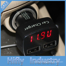 HF-001 Factory selling 4 in 1 5V 2.1A Dual USB port car charger New Highspeed Universal Mobile Phone Charger 4.8A USB
