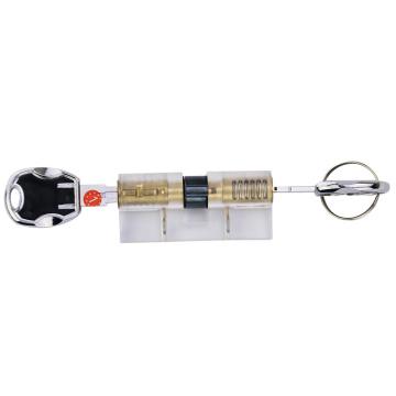 Transparenter Übungsklinge-Zylinder-Verschluss-Kern mit Multi-D verfolgt Schlüssel